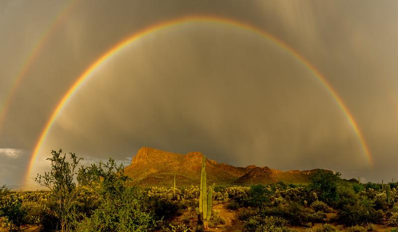 Rainbow Over Panther Peak