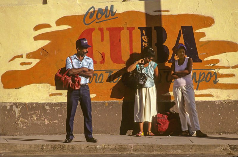 Bus Stop, Santiago de Cuba