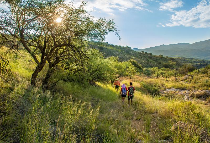 Hike to Chiva Falls #1