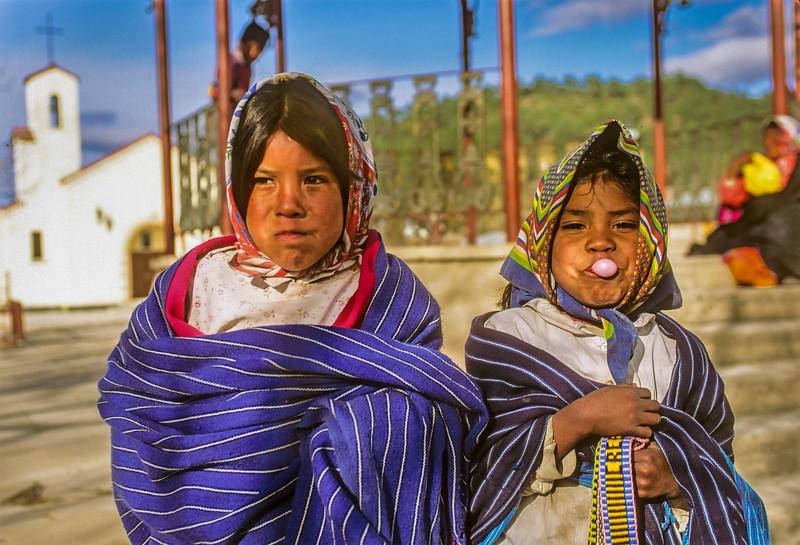 Tarahumara Girls with Bugglegum
