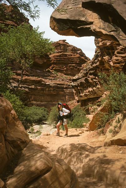 Marsha Backpacking