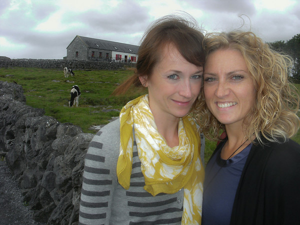 Heather and Lynsey