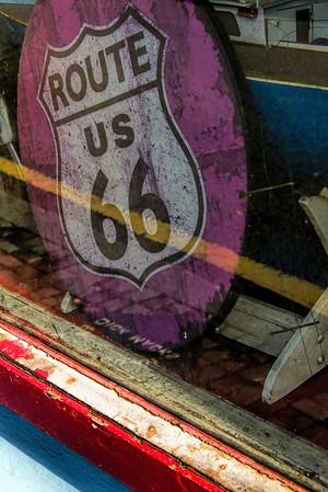 Route 66 Sign, Dick Mack's, Dingle, Ireland