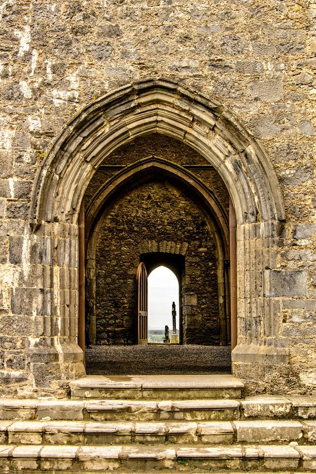 Rock of Cashel Arch Way