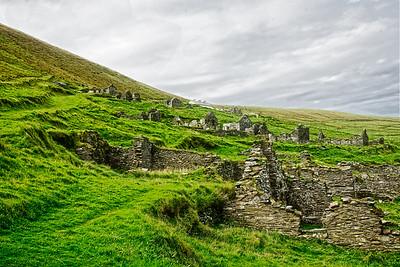 Abandoned Village on Great Blaskett Island