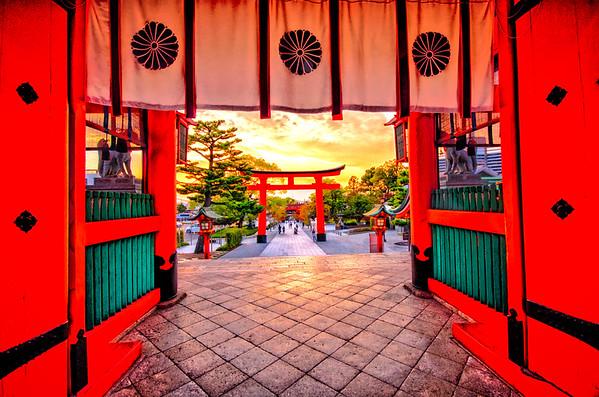 Fushimi Inari Taisha Entry Area