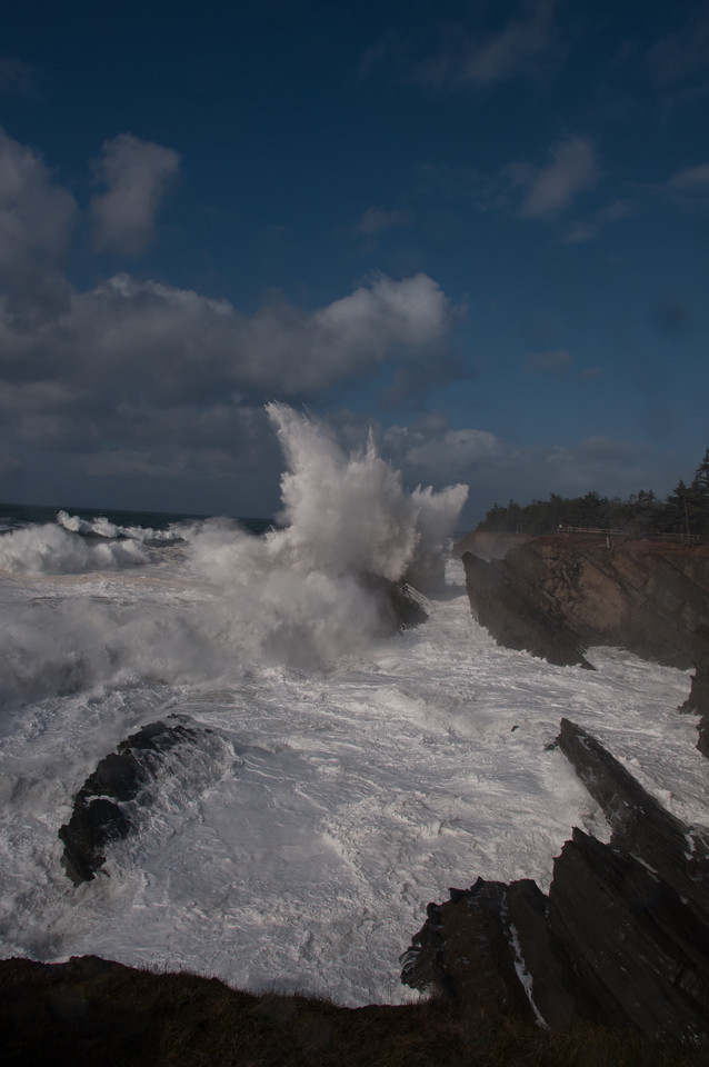 Breakers at Shore Acres, Oregon