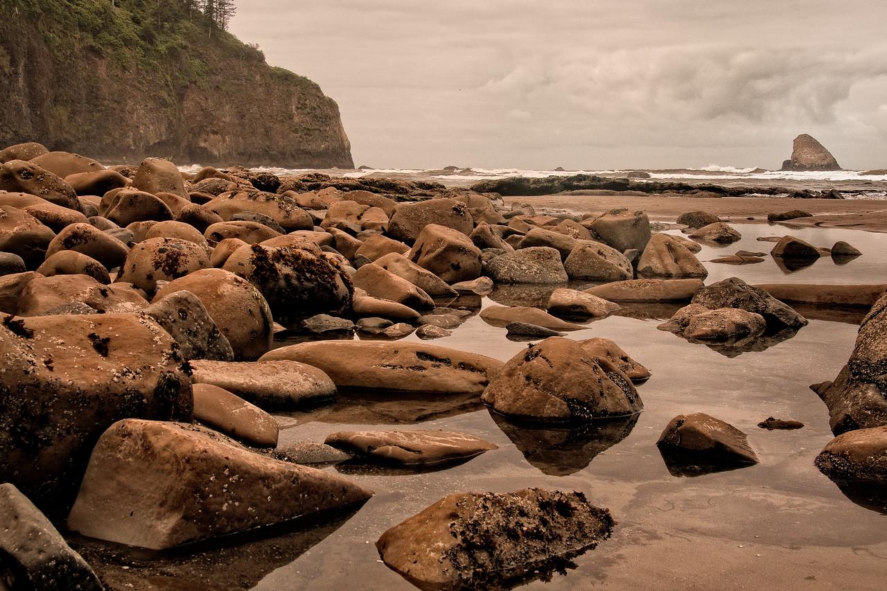 Cape Mears Beach, Oregon