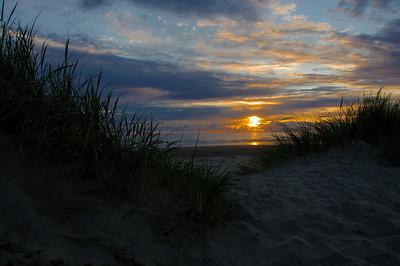 Sunset Beyond the Dune