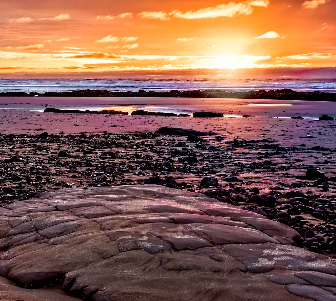 Moolock Beach Sunset