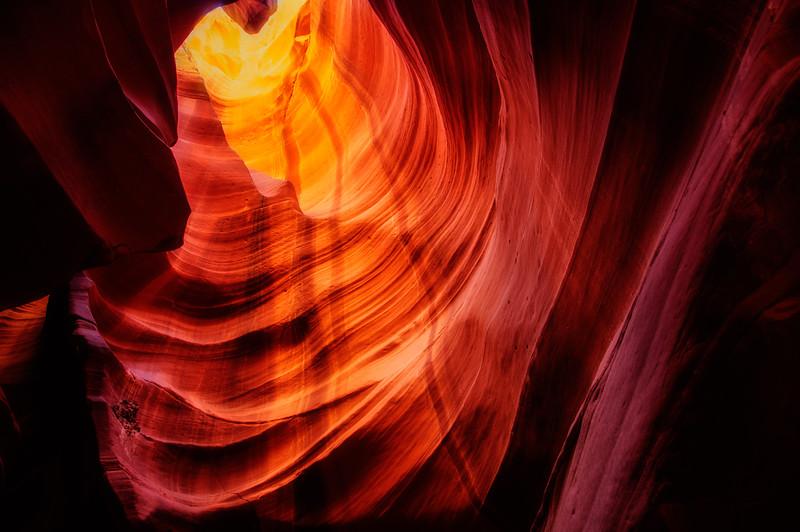 Upper Antelope Slot Canyon Light
