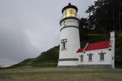 Heceta Head Lighthouse on Duty