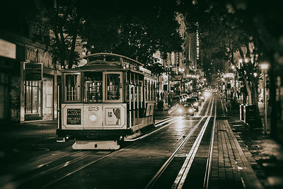 San Fran by night