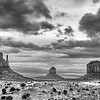 Monument Valley Buttes and Sky ~ Arizona ~ Spring