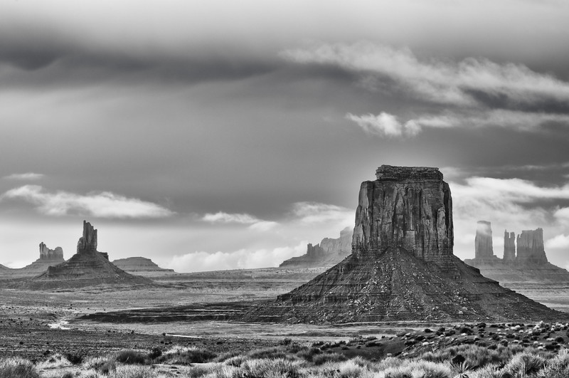 Monument Valley Between Rain Showers Spring 2009