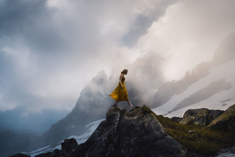 "Elizabeth Gadd 2018 – www.elizabethgadd.com ""10 years later, still taking moody self portraits. Hoping the practice has paid off!"""