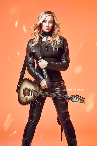 "<em>Commissioned work for guitar queen <a href=""http://en.wikipedia.org/wiki/Nita_Strauss"">Nita Strauss</a>.</em>"