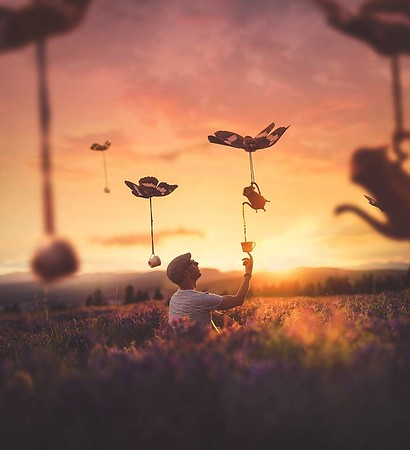 "Joel Robison 2018 – www.joelrobison.com ""It took several years to really carve out my own style, shooting in natural light and on location is my favourite thing to do. I still shoot self portraits and still use props but no more cardboard and definitely no more Picnic editing!"""