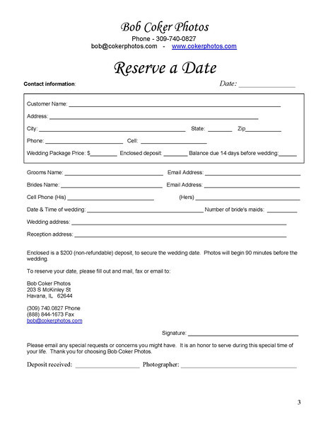Wedding Order Form & OFFICIAL -1423418702-O