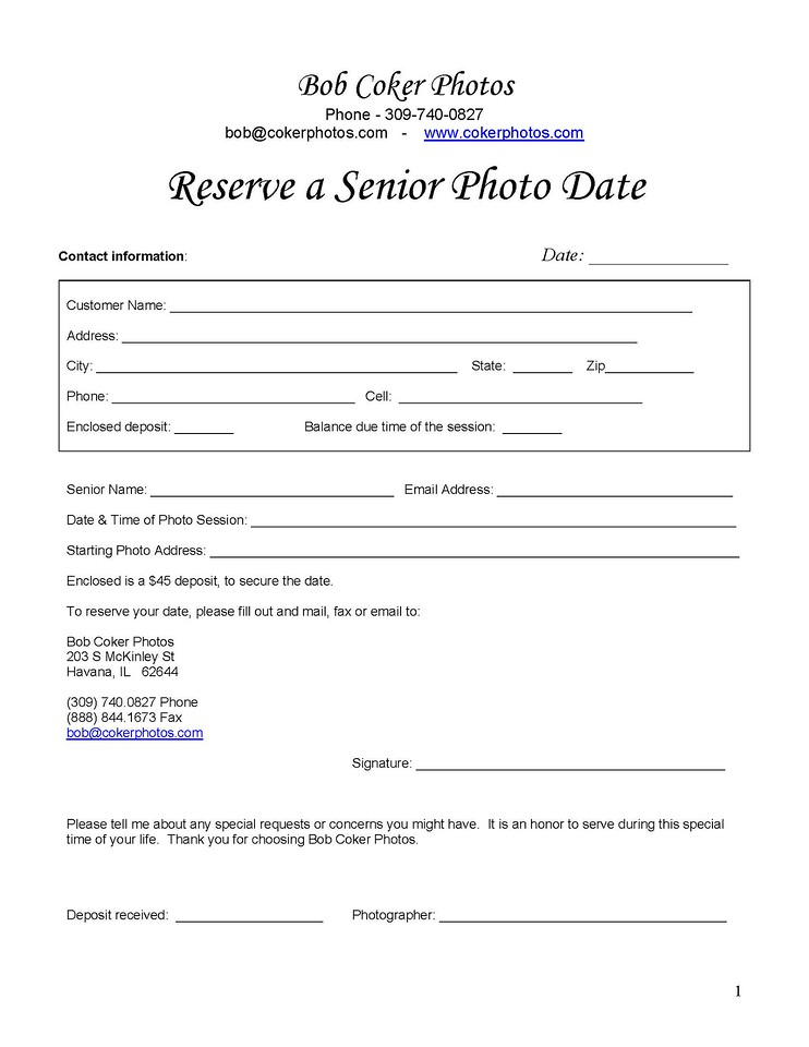SENIOR Order Form & OFFICIAL P-1423418527-O