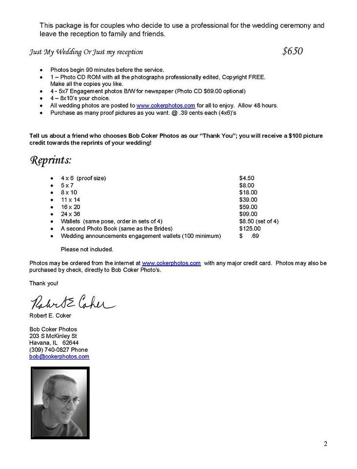 Wedding Order Form & OFFICIAL -1423418577-O