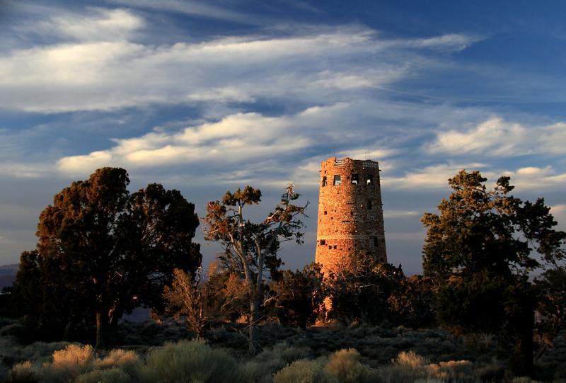 """""""Tower Sunset Light""""  (12""""x18"""" #1859)  $86"""