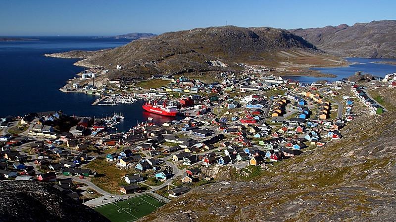 """""""Qaqortoq, Greenland"""" (16.75""""x30"""" #4538) $201"""