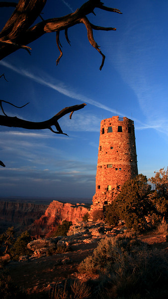"""Canyon Watchtower"" (16.75""x30"" #1868) $197"