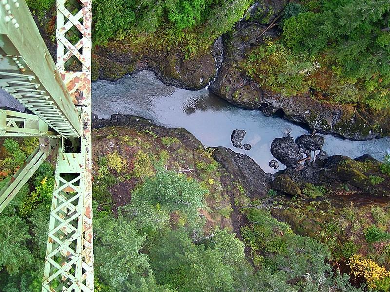 """""""Steel Bridge View"""" (#3902)"""