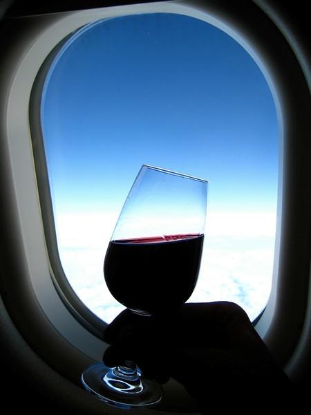 """Wine Tasting at 37,000"" (13.5""x18"" #2547) $97"
