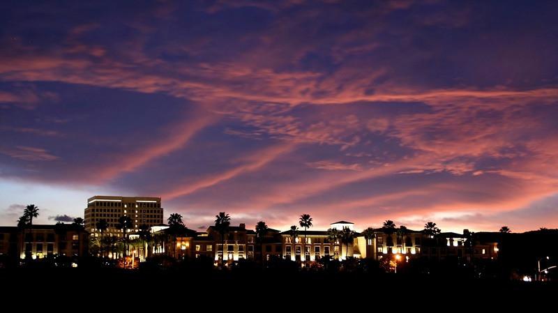 """Sunset Skyline"" (16.75""x30"" #1104) $198"
