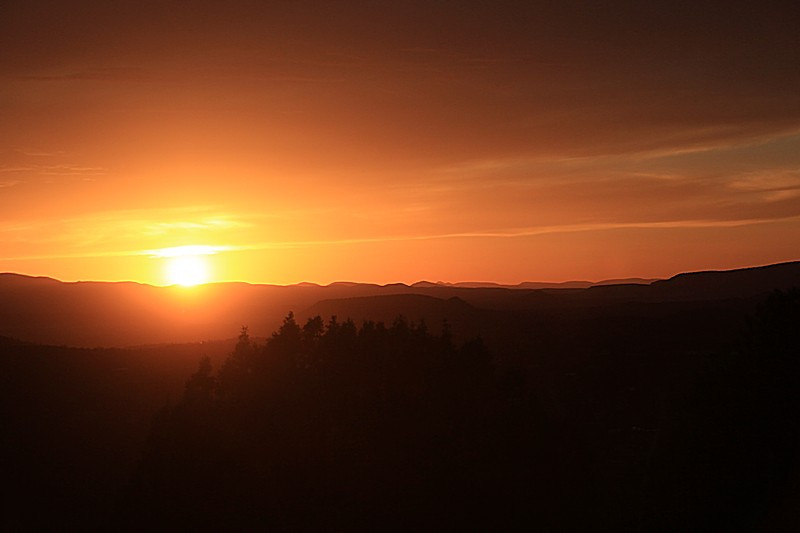 """Sedona Sunset"" (#1651)"