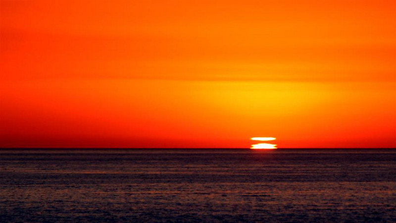 """Sunset Aberration""  (16.75""x30"" #2473) $200"