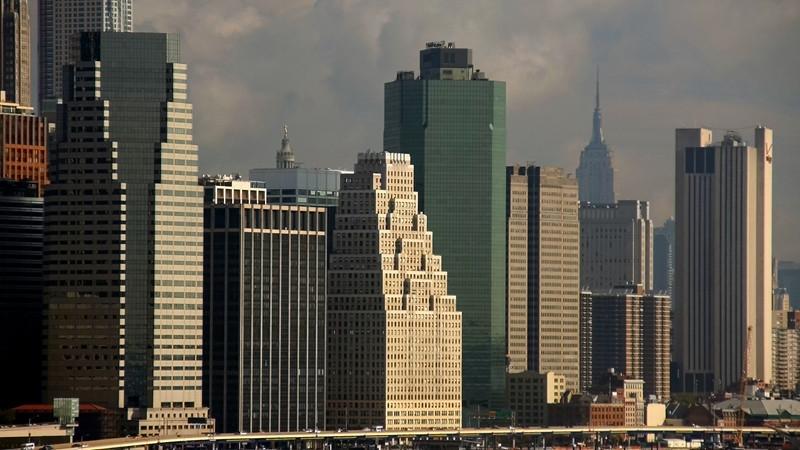 """""""Waterfront Skyline"""" (16.5""""x30"""" #4777) $198"""