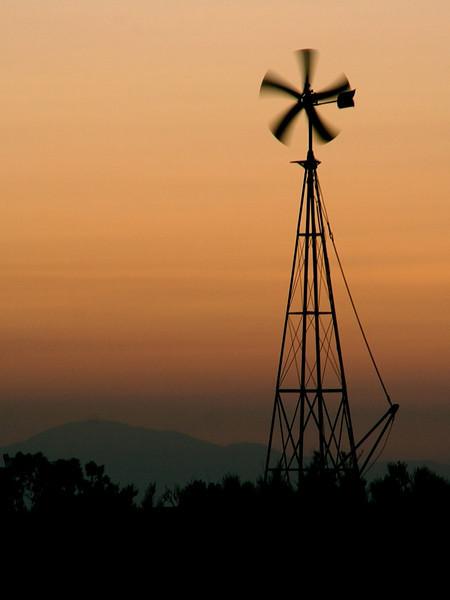 """""""Ranch Windmill"""" (13.5""""x18"""" #0077) $97"""