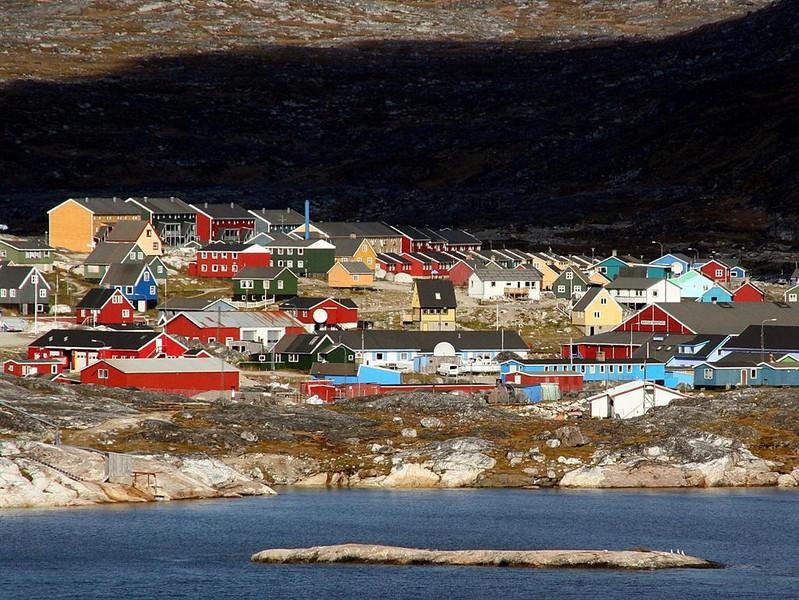 """Nanortalik, Greenland"" (13.5""x18"" #3825) $97"