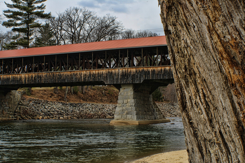 Saco River Bridge<br /> Conway, NH<br /> Built 1890