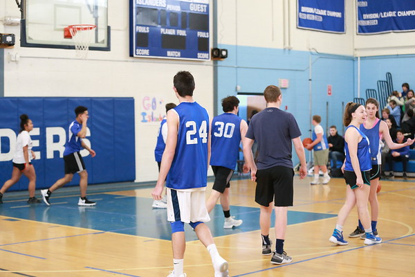 2018 04 10 MHS Basketball Students vs Teachers