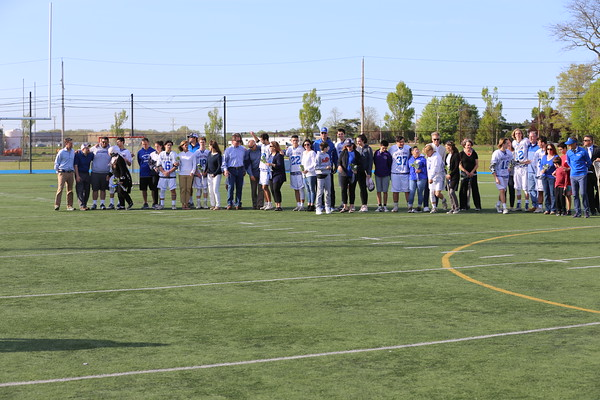 2018 05 21 MHS LAX Senior Night Ceremony Post Game