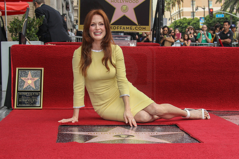 Julianne Moore Honored with a Star on the Hollywood Walk of Fame