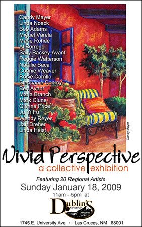 "Participated in the ""Vivid Perspective"" art show as a resident artist of the Main Street Gallery."