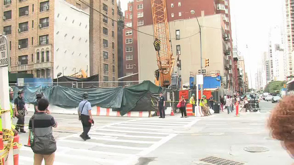 Video shot by the New York Daily News. Posted on their website shortly after the explosion.