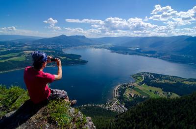 Bastion Mountain Lookout 4, Sunnybrae, Shuswap, summer, activities, Darren Robinson