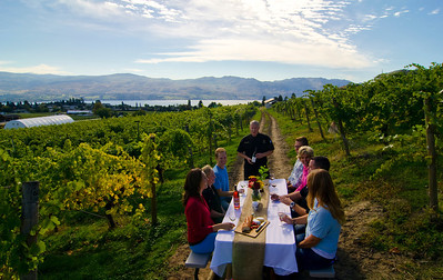 Dining in the vineyard 12, Little Straw Vineyards, West Kelowna, Central Okanagan, summer, dining, Darren Robinson