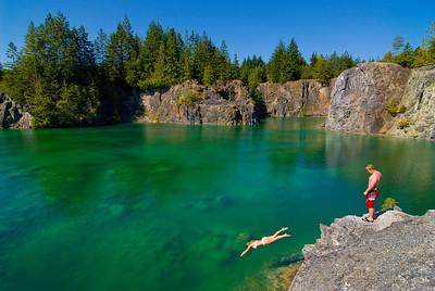 Quarry Lake - Texada Island