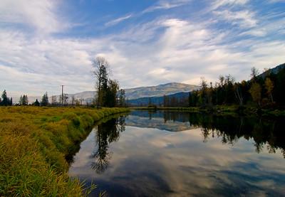 Shuswap River 31, Trinity Valley, near Enderby, Shuswap, fall, landscape, Darren Robinson