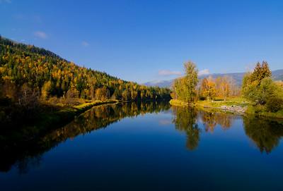Shuswap River 30, Trinity Valley, near Enderby, Shuswap, fall, landscape, Darren Robinson