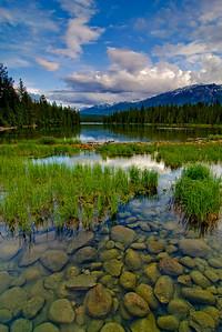 Lac Beauvert, Jasper, AB