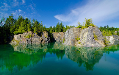 Heisholt (Quarry) Lake, Texada Island, BC