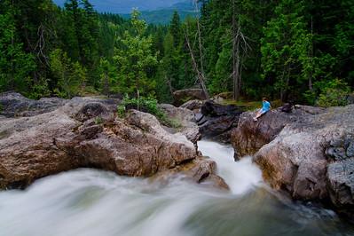 Albas Creek, Shuswap, BC